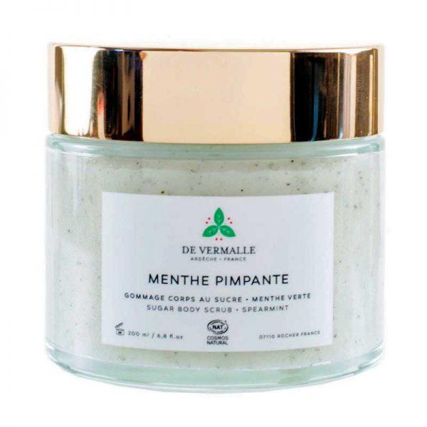 Menthe Pimpante Gommage Corps 200 ml – DE VERMALLE