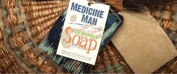 Savon Naturel Medicine Man 180g – GROUND SOAP